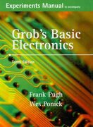 Experiments Manual and Simulation CD to accompany Grob's Basic Electronics 10th edition 9780073261263 0073261262
