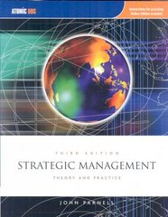 Strategic Management: Theory and Practice 3rd edition 9781426628825 142662882X