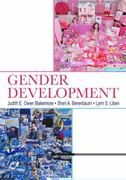 Gender Development 1st Edition 9781135079338 1135079331