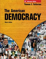 The American Democracy, Alternate Edition 9th edition 9780077237912 0077237919