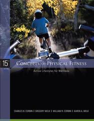 Concepts of Physical Fitness: Active Lifestyles for Wellness 15th edition 9780073376394 0073376396