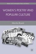 Women's Poetry and Popular Culture 1st Edition 9780230339637 0230339638