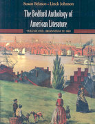 Bedford Anthology of American Literature V1 & V2 1st edition 9780312412098 0312412096