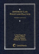 Antitrust Law 4th edition 9780820570365 0820570362