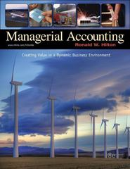 Managerial Accounting 8th edition 9780073526928 0073526924