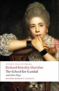 The School for Scandal and Other Plays 1st Edition 9780199540099 0199540098