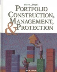 Portfolio Construction, Management, and Protection (with Stock-Trak Coupon) 5th edition 9780324665109 0324665105