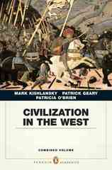 Civilization in the West 1st edition 9780205664733 0205664733