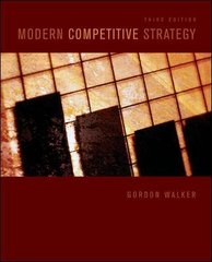 Modern Competitive Strategy 3rd Edition 9780073381381 0073381381
