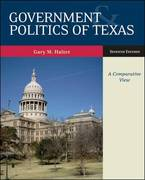 Government and Politics of Texas 7th edition 9780073378985 0073378984