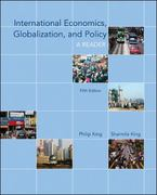International Economics, Globalization, and Policy: A Reader 5th edition 9780073375816 0073375810