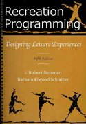 Recreation Programming 5th Edition 9781571675736 1571675736