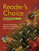 Reader's Choice, Split Edition (5th Edition) 5th Edition 9780472032945 0472032941