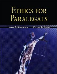 Ethics for Paralegals 1st edition 9780073376981 0073376981
