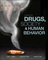 Drugs, Society, and Human Behavior 13th Edition 9780073380797 0073380792