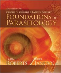 Foundations of Parasitology 8th edition 9780073028279 0073028274