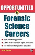 Opportunities in Forensic Science 2nd Edition 9780071545334 0071545336