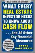 What Every Real Estate Investor Needs to Know About Cash Flow... And 36 Other Key Financial Measures 1st Edition 9780071603270 0071603271