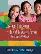 Classroom Instruction That Works with English Language Learners Participants' Workbook 1st Edition 9781416606987 141660698X