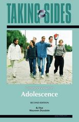 Adolescence: Taking Sides - Clashing Views in Adolescence 2nd Edition 9780073515366 0073515361
