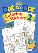 Dot to Dot Coloring and Stickers 0 9780825473616 0825473616