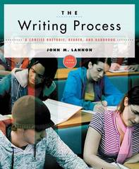 The Writing Process 10th edition 9780205642892 0205642896