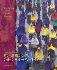 Contemporary World Regional Geography 3rd Edition 9780073051505 0073051500