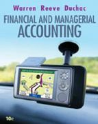 Financial & Managerial Accounting 10th edition 9780324663815 0324663811
