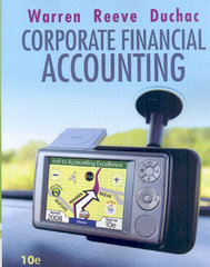 Corporate Financial Accounting 10th edition 9780324663839 0324663838