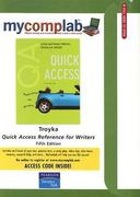 MyCompLab CourseCompass with Pearson eText -- Standalone Access Card -- for Quick Access, Reference for Writers 5th edition 9780136143956 0136143954