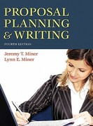 Proposal Planning and Writing 4th edition 9780313356582 0313356580