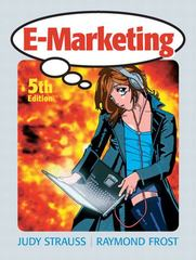 E-Marketing 5th edition 9780136154402 0136154409