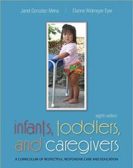 Infants, Toddlers, and Caregivers:  A Curriculum of Respectful, Responsive Care and Education 8th edition 9780073378541 0073378542