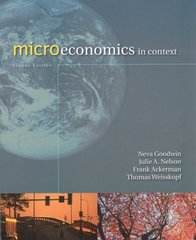 Microeconomics in Context 2nd Edition 9780765623010 0765623013