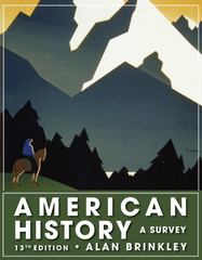 American History: A Survey 13th edition 9780073385495 0073385492