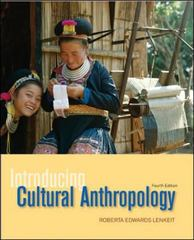 Introducing Cultural Anthropology 4th edition 9780073531021 0073531022