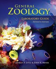 General Zoology Laboratory Guide 15th edition 9780073051628 0073051624