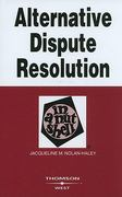 Alternative Dispute Resolution 3rd edition 9780314180148 0314180141