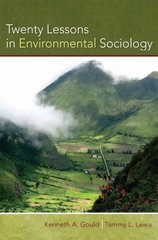 Twenty Lessons in Environmental Sociology 1st Edition 9780195371123 0195371127