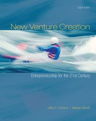New Venture Creation: Entrepreneurship for the 21st Century 8th edition 9780073381558 0073381551