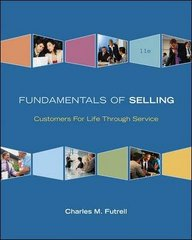 Fundamentals of Selling 11th edition 9780073381121 0073381128