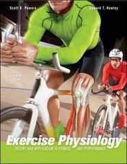 Exercise Physiology: Theory and Application to Fitness and Performance 7th edition 9780073376479 0073376477
