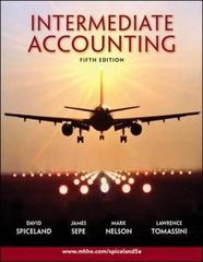 Intermediate Accounting 5th edition 9780073526874 0073526878