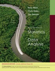 Introduction to Statistics and Data Analysis, Enhanced Review Edition (with CengageNOW Printed Access Card) 3rd edition 9780495557838 0495557838