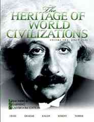 The Heritage of World Civilizations 4th edition 9780205660971 0205660975