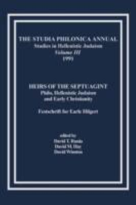 The Studia Philonica Annual, III, 1991 0 9781589833517 1589833511