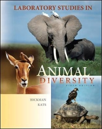 Laboratory Studies in Animal Diversity 5th edition 9780073349251 0073349259