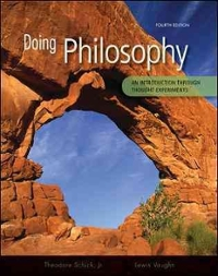 Doing Philosophy: An Introduction Through Thought Experiments 4th edition 9780073386683 0073386685