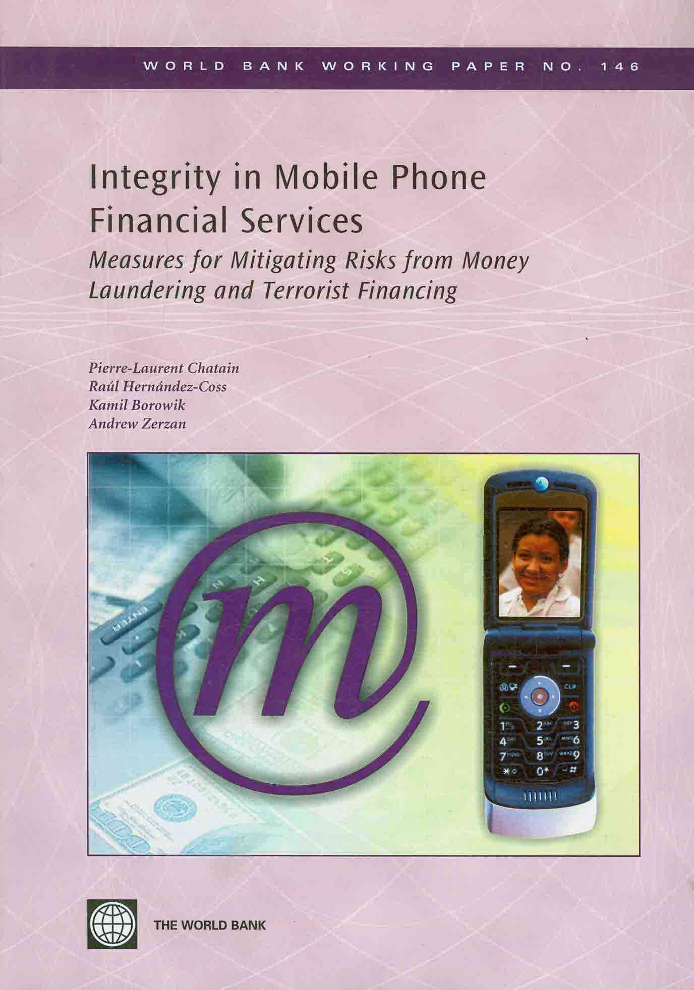 Integrity in Mobile Phone Financial Services 0 9780821375563 0821375563