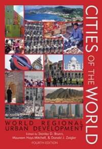Cities of the World 4th Edition 9780742555976 0742555976
